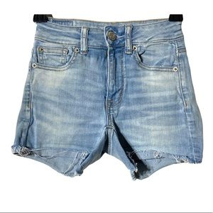 American Eagle Outfitters Shorts Jeans Hi Rise 00